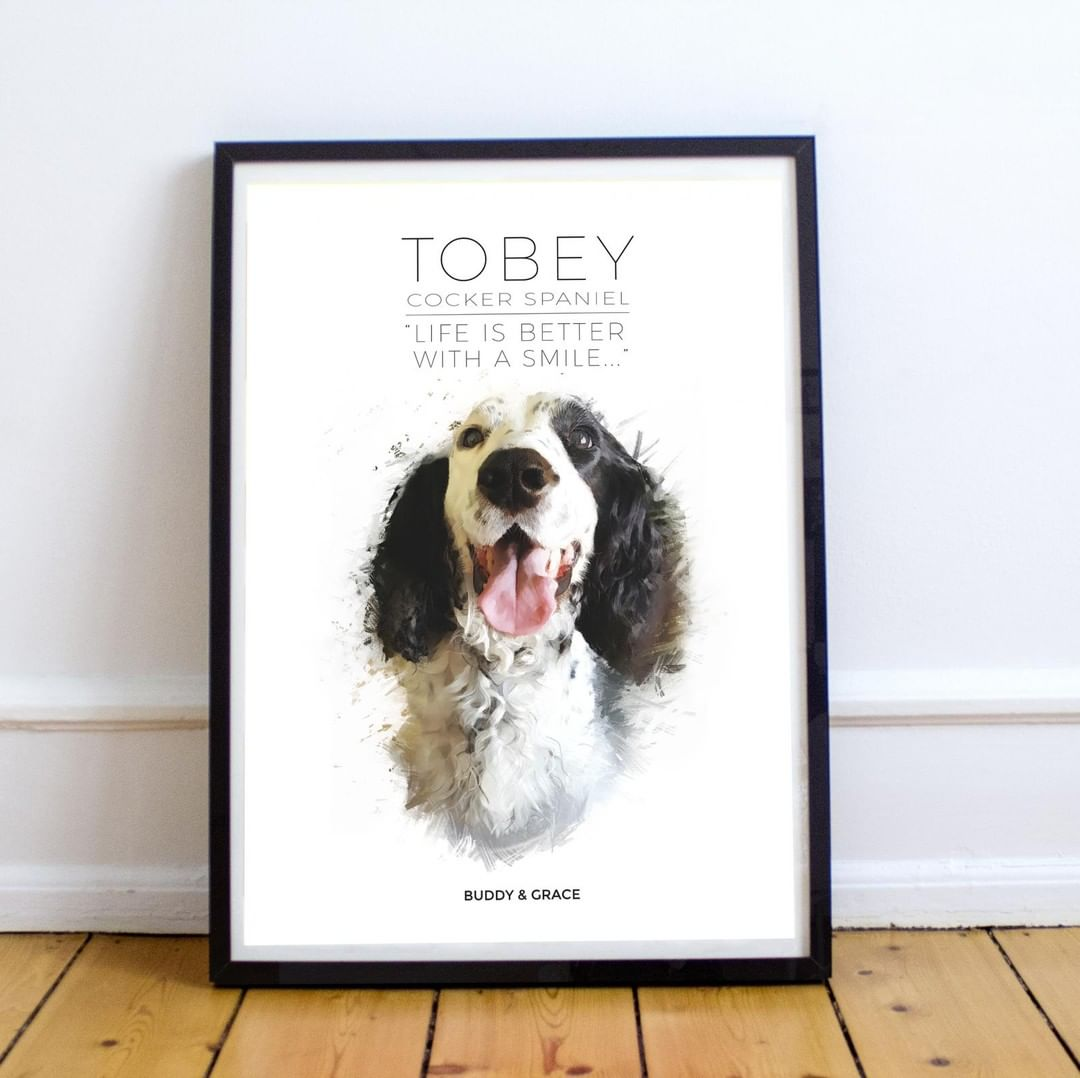Buddy & Grace Dog Posters